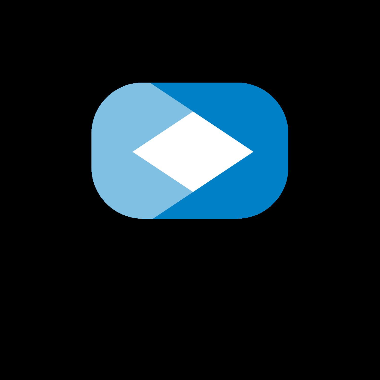 Logo meiTV - quadratisch - schwarze Schrift - transparent